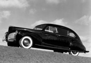 1940 Lincoln Zephyr Sedan (06H-73) 15764 made