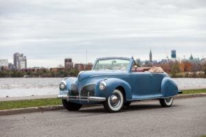 1941 Lincoln Zephyr Convertible Coupe (16H-76) 725 made