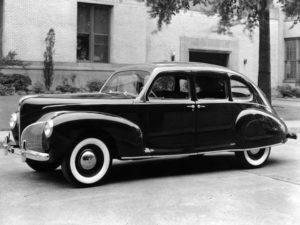 1941 Lincoln Zephyr Sedan (16H-73) 14469 made