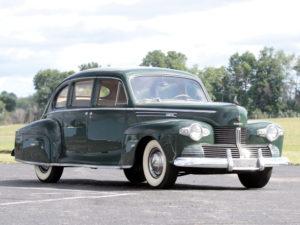1942 Lincoln Zephyr Sedan (26H-73) 4418 made