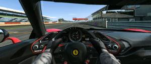 Ferrari J50 interior