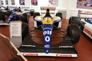 Donington Park museum Williams FW15C