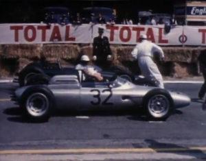 1962 Bonnie Porsche 804 france gp