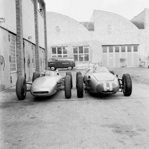 Porsche 804 and 878