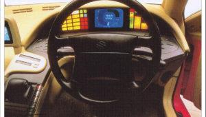 tokyo motor show Suzuki Quad Raider Constellation 1989 data specs inyerior