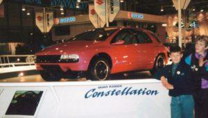 tokyo motor show Suzuki Quad Raider Constellation 1989 data specs