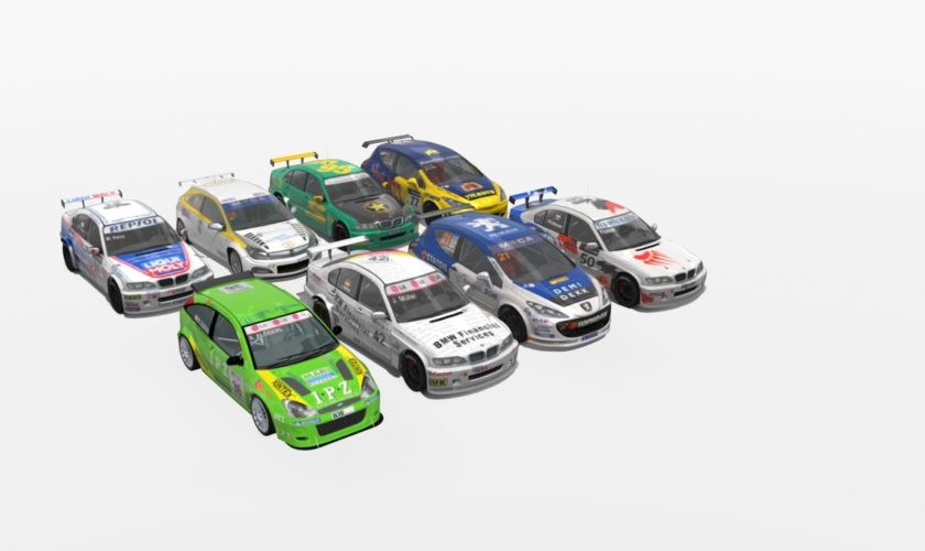 BMW 320i (e46), Peugeot 308, Opel Astra, Ford Focus ST – WTCC STCC mod extesion for Assetto Corsa
